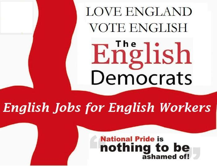 English Jobs for English Workers