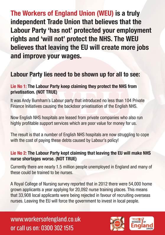 Exposing Labour's lies